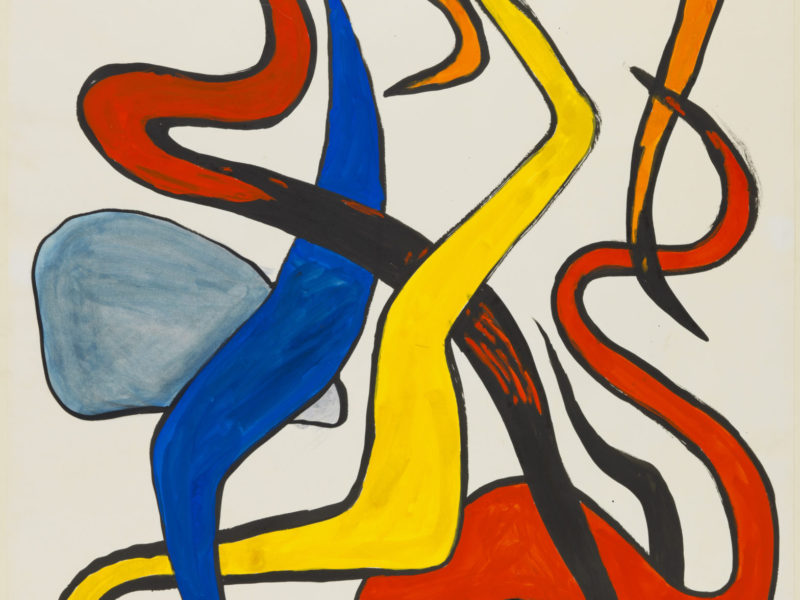 alexander-calder_twining-squiggles-art exhibition london