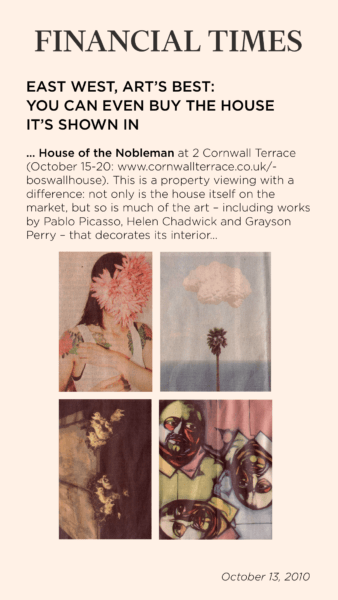 House of the Nobleman in Financial Times